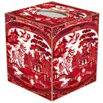 TB8783- Red Willow Tissue Box Cover