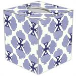 modern floral tissue box cover