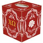 Chi Omega Tissue Box Covers