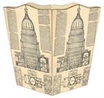 WB1020-Capital Blueprint Wastepaper Basket