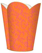 WB1174 - Morrocan Orange Wastepaper Basket