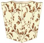 WB1269 - Brown Acorn Wastepaper Basket