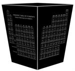 WB1393 - Vintage Periodic Table Wastepaper Basket