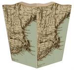WB1534-Cape Cod & Surrounding Islands Wastepaper Basket