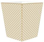 WB2600-Chelsea Tan Wastepaper Basket