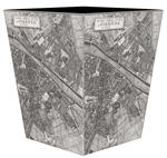 WB2636 - Firenze Italy Map Wastepaper Basket