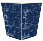 WB2700 - Lighthouse Blueprints Wastepaper Basket