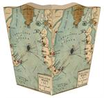 WB2743 - Charleston Fort Sumter Wastepaper Basket