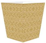 WB2845 - Berkely Gold Wastepaper Basket