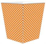 WB2855-Chelsea Orange Wastepaper Basket