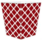 WB2982-Chelsea Grande Red Wastepaper Basket