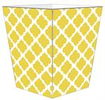 WB2985-Chelsea Grande Yellow Wastepaper Basket