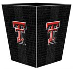 Texas Tech University Wastepaper Basket