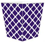 WB8035-Chelsea Grande Purple Wastepaper Basket