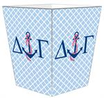 Delta Gamma Wastepaper Baskets