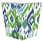 WB8408 - Seaside Ikat Wastepaper Basket