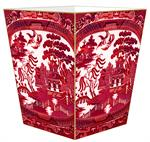 WB8783- Red Willow Wastepaper Basket