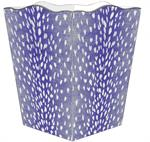 Purple antelope wastepaper basket