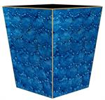 Blue and gold home decor