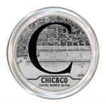 C2478 - Chicago Map Coaster