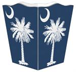 WB2766 - South Carolina Flag Wastepaper Basket