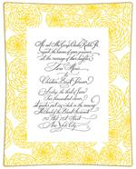 Browse Wedding Invitation Glass Decoupage Plates Samples