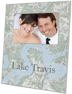 F8036-Lake Travis Picture Frame